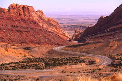 The Snack Road Ever. Along The Way To Arches National Park, Utah Royalty Free Stock Photography