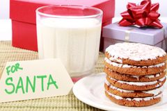 Snack for Santa Stock Images