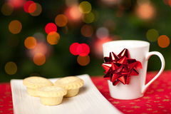 Snack for santa Royalty Free Stock Photos