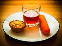 Snack for santa Stock Photo