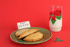 Snack for Santa Claus Royalty Free Stock Photography