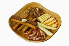 Snack set Stock Images