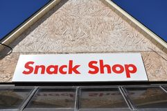 Snack shop Royalty Free Stock Photo