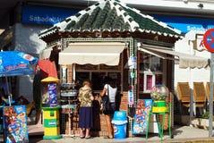 Snack stall, Nerja, Spain. Stock Image