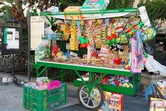Snack stall, Sanlucar de Barrameda. Royalty Free Stock Image