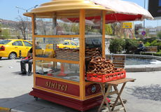 Snack stand in Turkey Royalty Free Stock Photography