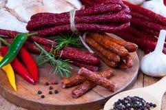 Snack stick sausage Stock Image
