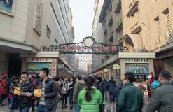 Snack Street in Tianjin Royalty Free Stock Images