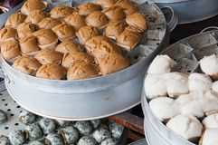 Steam buns Stock Photos