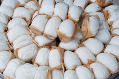 Steamed buns. On the street vendors in Chengdu Royalty Free Stock Photography