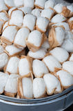 Steamed buns. On the street vendors in Chengdu Royalty Free Stock Photo