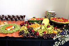 Snack table Royalty Free Stock Images