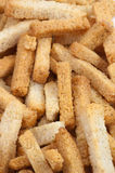 Snack to beer. Wheaten crackers. Royalty Free Stock Photography