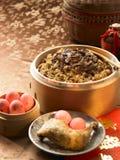 Snack. Traditional Taiwan snack,mushroom rice stock photography