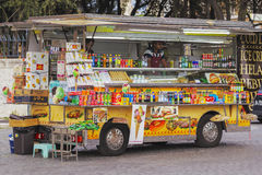 Snack truck in Rome Royalty Free Stock Photo