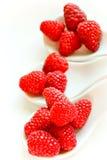 Snack van framboos Royalty-vrije Stock Foto