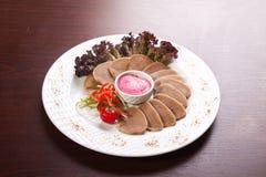 Snack van tong Stock Fotografie