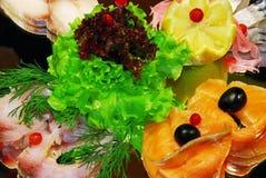 Snack van vissen Stock Foto's