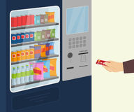 Snack vending machine Royalty Free Stock Photo
