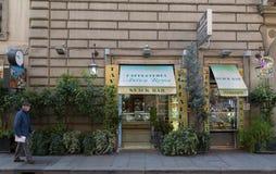 Snackbar in Rom Lizenzfreie Stockbilder