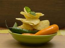 Snacks Fotografía de archivo