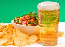 Free Snacks And Beer Royalty Free Stock Image - 7366366