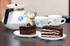 Snacks And Tea, Cake, Breakfast Stock Photography