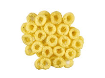 Snacks corn rings Royalty Free Stock Images