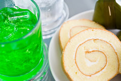 Snacks and drinks Royalty Free Stock Images