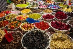 Snacks in een Markt, Mexico Stock Afbeelding