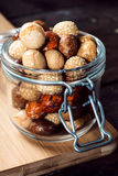 Snacks in the jar Royalty Free Stock Photography