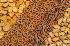 Snacks mix Royalty Free Stock Photography