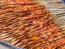 Snacks,shish kebab Royalty Free Stock Image