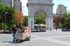 Snacks voor het Vierkante Park van Washington Royalty-vrije Stock Afbeelding
