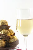 Snacks and wine Royalty Free Stock Images