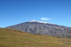 Snaefellsjokull berg i Island. Arkivfoto
