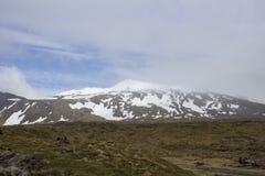 Snaefellsjokull glaciär Fotografering för Bildbyråer