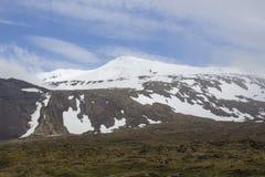 Snaefellsjokull glaciär Arkivbild