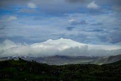 Snaefellsjokull-Gletscher stockbild