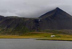 Snaefellsnes, IJsland Stock Foto