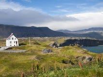 Snaefellsness Island Arkivfoton