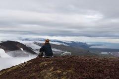 Snaefellsness, Islande - 21 juillet 2016 solitude Image libre de droits