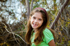 Snaggle Tooth Girl Royalty Free Stock Image