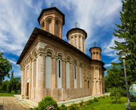 Snagov Monastery, Romania. The Burial Place of Vlad the Impaler Stock Photos