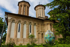 Snagov Monastery, Romania. The Burial Place of Vlad the Impaler Stock Images