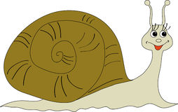 snail Royaltyfri Illustrationer