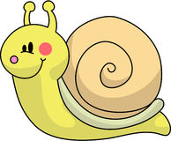 Snail. A snail for your garden Stock Photo