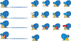 snail Fotografering för Bildbyråer