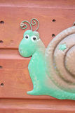 Snail art Stock Images
