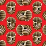 Snail background pattern Royalty Free Stock Photography